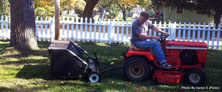 how to build a lawn sweeper