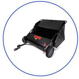 """Buy Brinly 42"""" Lawn Sweeper From Amazon"""