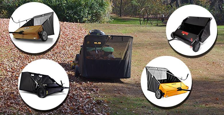 John Deere 44 Sweeper : Tow behind lawn sweeper reviews