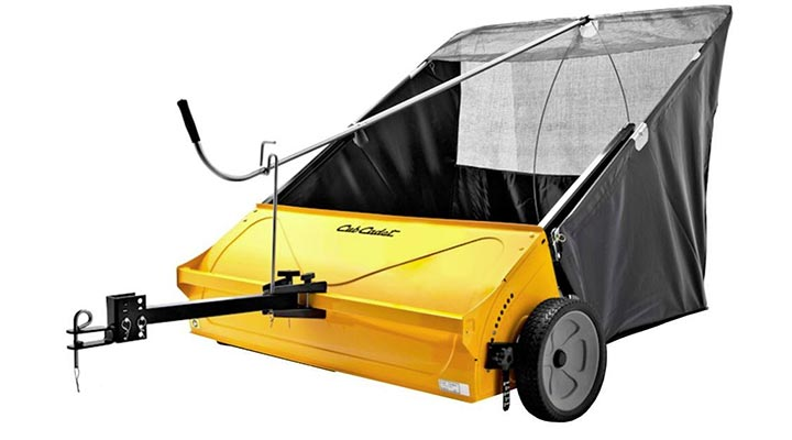 Cub Cadet 44 Inch Tow Behind Lawn Sweeper