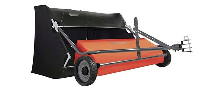Husqvarna 50-Inch Tow Behind Lawn Sweeper
