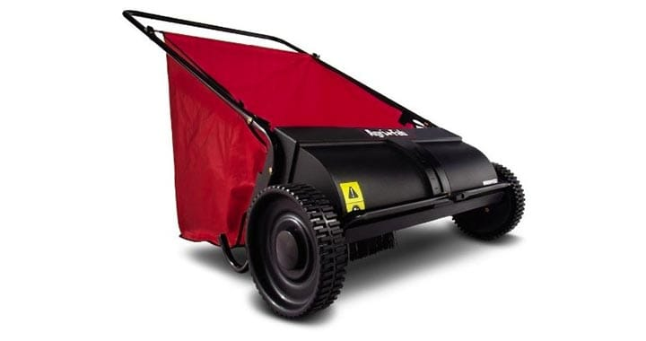 "Agri-Fab 26"" Push Lawn Sweeper"