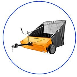 """Buy The Cub Cadet 44"""" Lawn Sweeper From Amazon"""