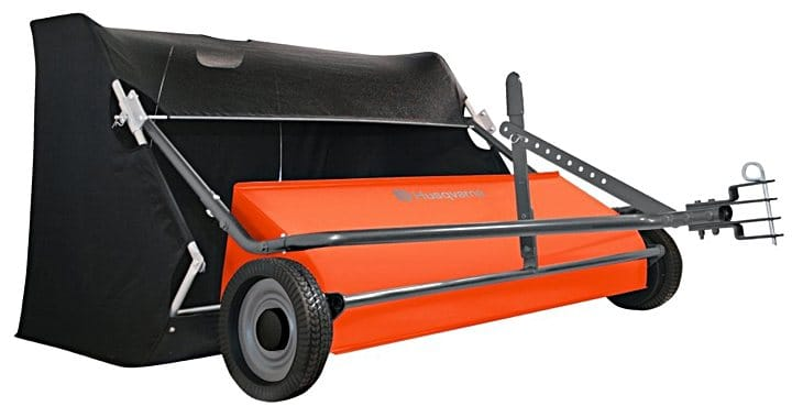 Husqvarna 50 Quot Lawn Sweeper Tow Behind Review