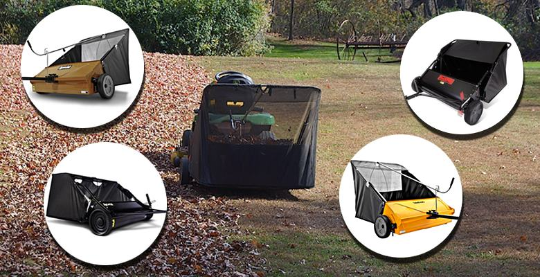 Tow Behind Lawn Sweeper Reviews
