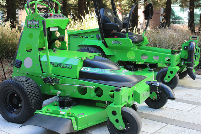 Electric Riding Mowers